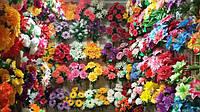 Головки цветов из ткани оптом