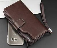 Стильный мужской кошелек клатч Baellerry Business (портмоне Баелери Бизнес), фото 1