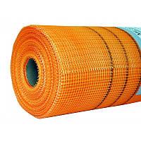 Сетка фасадная Budowa (5*5 мм), 1*50 м, 160 г/м2, оранжевая