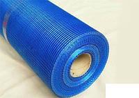 Сетка фасадная Сетка (5*5 мм), 1*50 м, 145 г/м2, синяя
