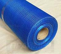 Сетка фасадная Brigadier Professional (5*5 мм), 1*50 м, 140 г/м2, синяя