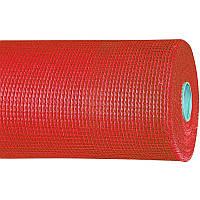 Сетка фасадная Brigadier Professional (5*5 мм), 1*50 м, 160 г/м2, красная