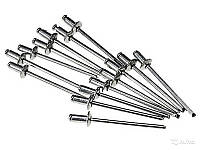 """Заклепка алюминиевая   """"Бригадир Standart"""", 4,8 х 12,7 мм  (50шт/уп)"""