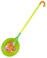 Игрушечная каталка колесо