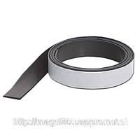 Магнитная лента с клеевым слоем (1,5мм х13мм х 30 м)