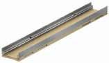 Низкий канал h=10см. ACO Multiline V 100 с кромкой из нержавеющей стали