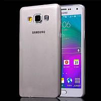 Ультратонкий чехол для Samsung Galaxy A7 A700 серый