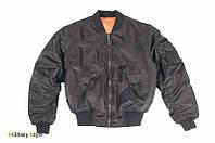 Куртка летная MA1 США, black