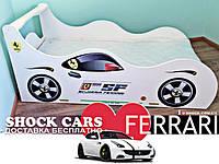 Ліжко машина ФЕРАРІ - тільки для Вас купити на http://кровать-машина.com.ua, намальована з любов'ю! Меблі Ферарі з безкоштовною доставкою по Україні!