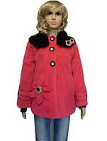 Демисезонное детское пальто на 5 - 8 лет