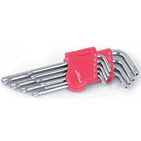 Набор ключей TORX, T10-T50 длинные CR-V, 9 шт Бригадир Standart