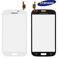 Touchscreen (сенсорный экран) для Samsung Galaxy Grand Neo Plus i9060i, белый, оригинал