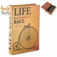 Книга сейф с ключом Life Race