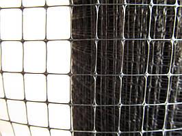 Сетка пластиковая птичная. Ячейка: 30х35мм. Ширина: 2м, Длина: 100м.