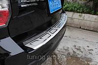 Накладка заднего бампера для Subaru Forester 2014-on