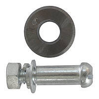 Intertool HT-0348 Колесо сменное для плиткореза с осью 16*2*6мм
