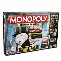Настольная игра Hasbro Монополия с банковскими картами обновленная (B6677)
