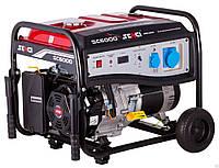 Бензиновый генератор SENCI SC6000-М (5,0-5,5 кВт) р.с.