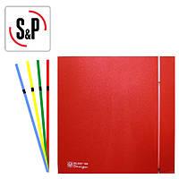 Вентилятор SILENT-100 CZ RED DESIGN - 4C 230V 50