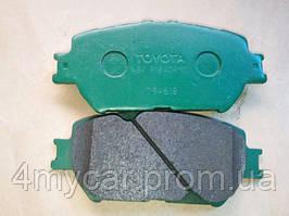 Колодки тормозные передние, компл. (производство TOYOTA ), код запчасти: 0446533320