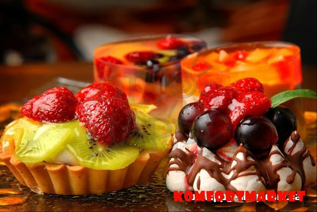 """Фотообои: """"Желейные десерты"""""""