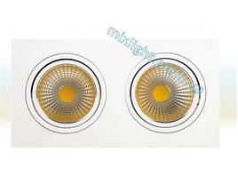 Светодиодный светильник 2х10W Veronica Horoz Electric
