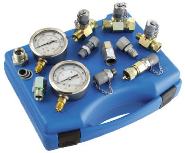 Измерительные гидравлические системы, гидроаккумуляторы, реле давления, штуцера, датчики давления, расходомеры и пр.
