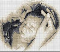 """Набор алмазной мозаики """"Материнская любовь"""" (27*33см)"""