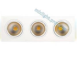 Светодиодный светильник 3х10W Veronica Horoz Electric