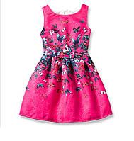 Платье для девочки с бабочками