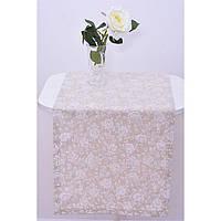 "Дорожка  ""White rose"" 120х40"