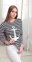 Тельняшка с якорем , свитера женские
