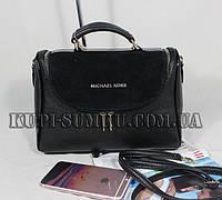 Практичная комбинированная сумка для деловой женщины