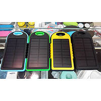 Solar Charger ES500 Power Bank 5000 mAh black-green