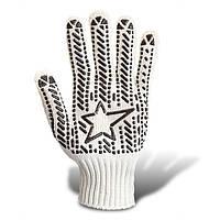 Перчатки Budowa белые (аналог со звездой)