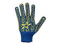 Перчатки Budowa синяя (аналог со звездой)