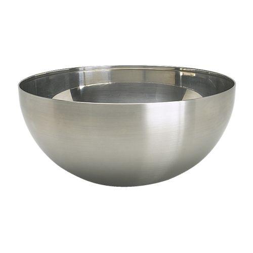 ИКЕА БЛАНДА БЛАНК, 200.572.55 Миска сервировочная, нержавеющ сталь, 20 см