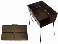 Мангал-чемодан 10 шампуров