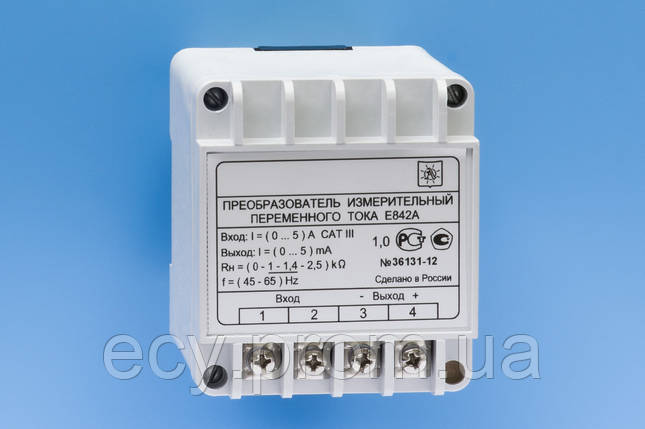 Е842А Преобразователь измерительный переменного тока, фото 2