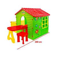 Mochtoys будиночок з тарасою+столик і крісла 02