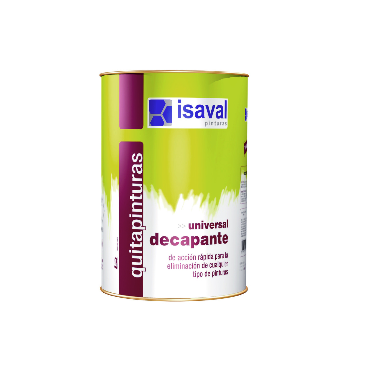 Засіб для зняття старої фарби Декапант 4л ISAVAL