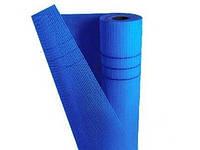 Сетка фасадная Budowa standart (5*5 мм), 1*50 м, 145 г/м2, синяя