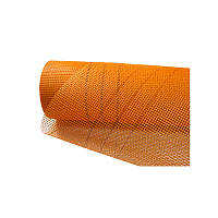 Сетка фасадная Budowa standart (5*5 мм), 1*50 м, 160 г/м2, оранжевая