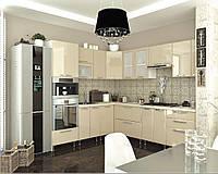 Кухня София Престиж Кухня 2 метра, сахара глянец
