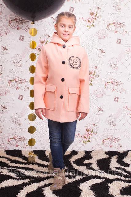 """Кашемировое пальто для девочки """"Vikki"""""""