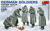 Немецкие солдаты [зима 1941-1942гг.] 1/35 MiniART 35218
