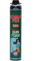 Пена монтажная Soma Fix проф. пена-клей 750 мл для теплоизоляционных плит
