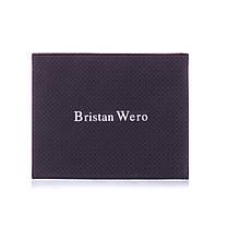 Обложка для паспорта женская кожаная Bristan Wero фиолетовая, фото 3