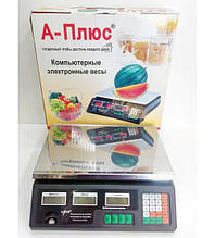 Весы торговые А-Плюс 1655 30 кг