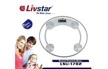Весы напольные Livstar LSU-1782